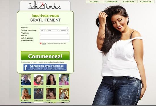 Belles-rondes.com – Le site des belles rondes et de ses admirateurs