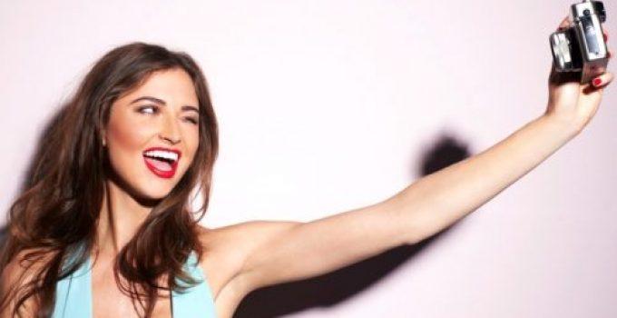 selfie photo profil