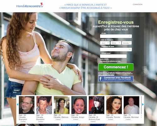 HandiRencontre.ca  – La référence des célibataires handicapés