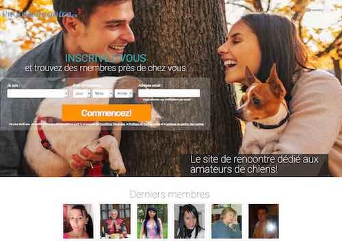PitouRencontre.ca – Un service de rencontre pour les amateurs de chiens !