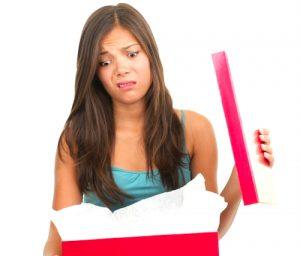 idées de cadeau pour femme a eviter