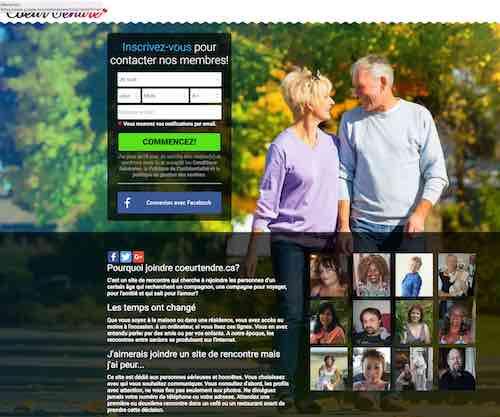 Coeurtendre.ca – Les rencontres entre célibataires séniors