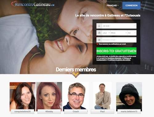 RencontreGatineau.ca – Un site dédié aux célibataires de ce secteur