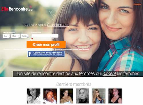 ElleRencontre.ca – Un service de rencontre destiné aux femmes lesbiennes