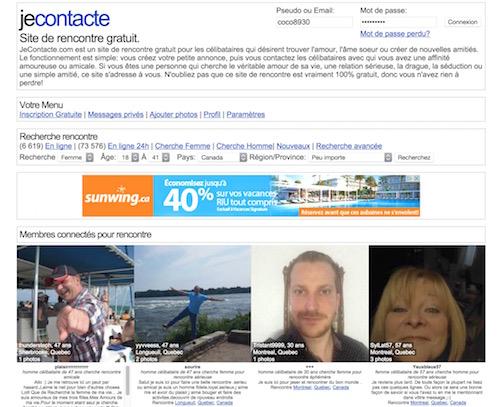 JeContacte.com – Faites des Rencontres sur le Net Gratuitement