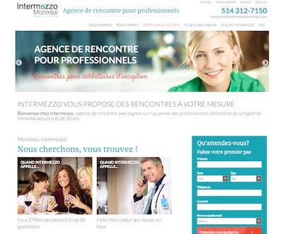 IntermezzoMontreal.com – Une Agence de Rencontre pour Professionnels