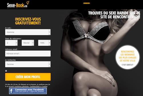 Sexe-book.ca – Pour une soirée sans lendemain