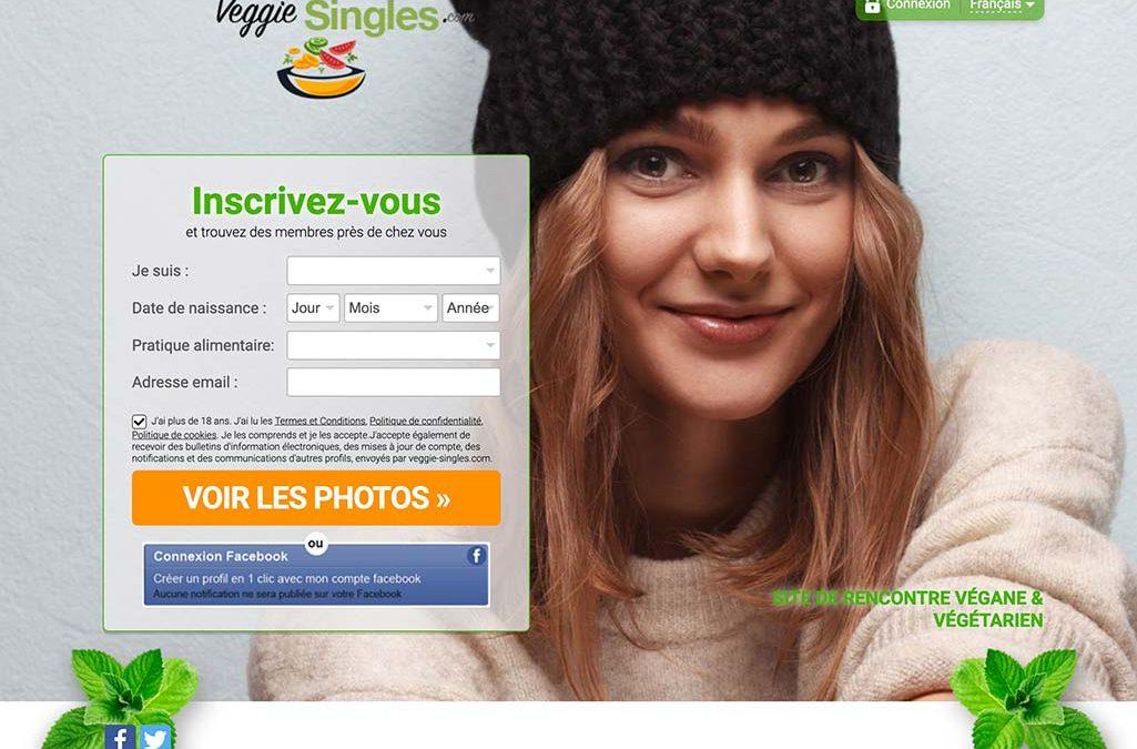 Veggie-singles.com: trouvez la personne qui adopte le même mode d'alimentation que le vôtre