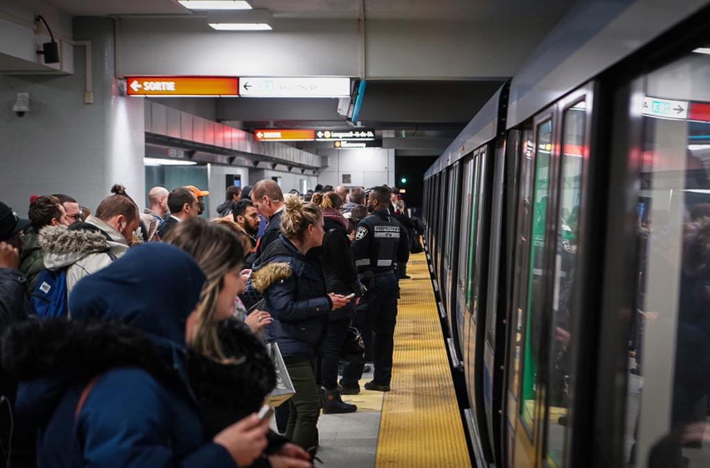 cruiser dans le metro